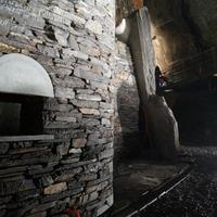 works at the Slate Mine